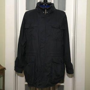 Burberrys Mens Hooded Jacket VTG 40R